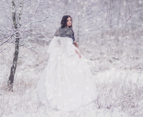 Zimowe sesje zdjęciowe